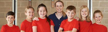 Kids sports team