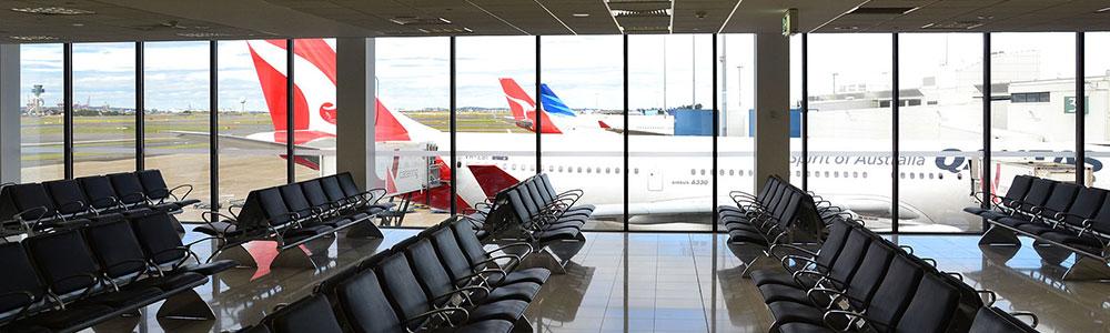 Sydney airport qantas