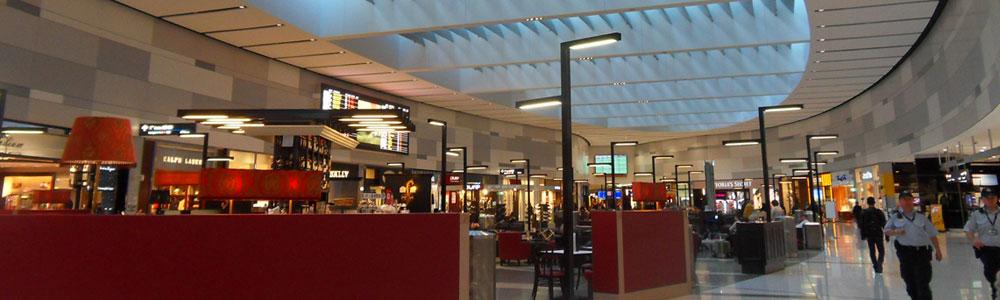 Sydney airport terminal