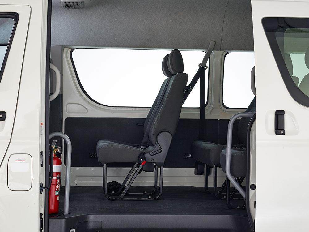 12 seater side door