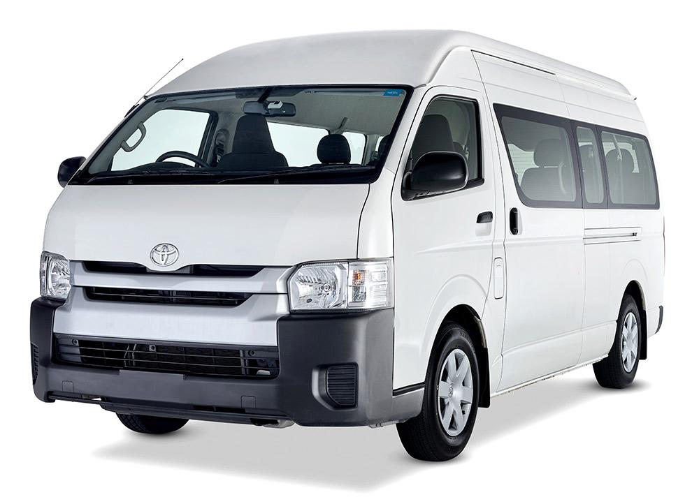 12 seater minibus hire