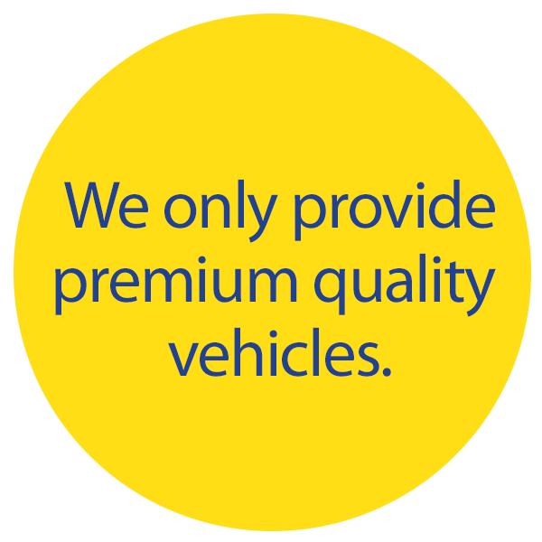 we only provide quality vehicles
