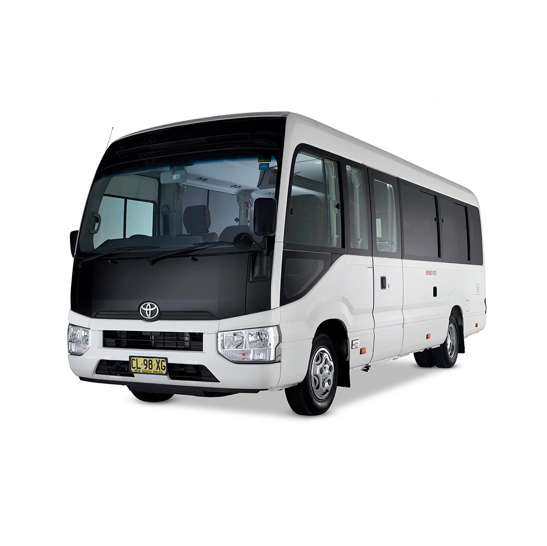21 Seater Minibus in circle